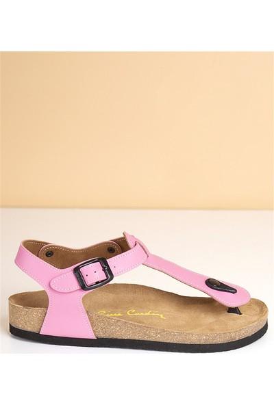 Pierre Cardin Kadın Günlük Sandalet-Pembe