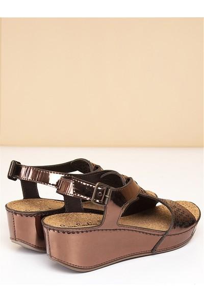 Pierre Cardin Kadın Dolgu Topuk Ayakkabı