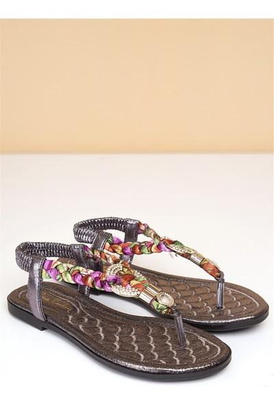Pierre Cardin Kadın Günlük Sandalet-Altın