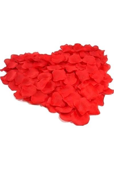 Süsle Bebek Parti Yapay Gül Yaprakları Kırmızı 300 Adet