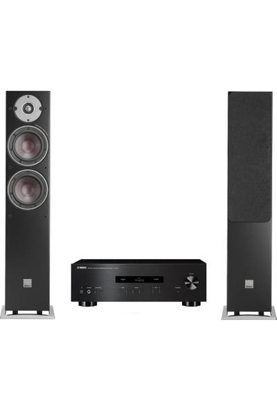 Yamaha - Dali Stereo Paket 31 ( Yamaha AS201 - Dali Oberon 5 Black )