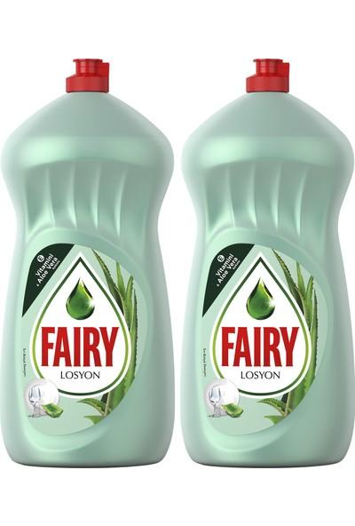 Fairy 1400 ml x 2 Sıvı Bulaşık Deterjanı Losyonlu