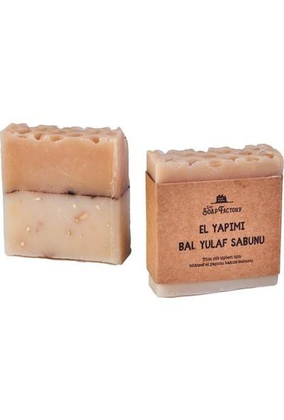 The Soap Factory El Yapımı Bal Yulaf Sabunu 100 gr