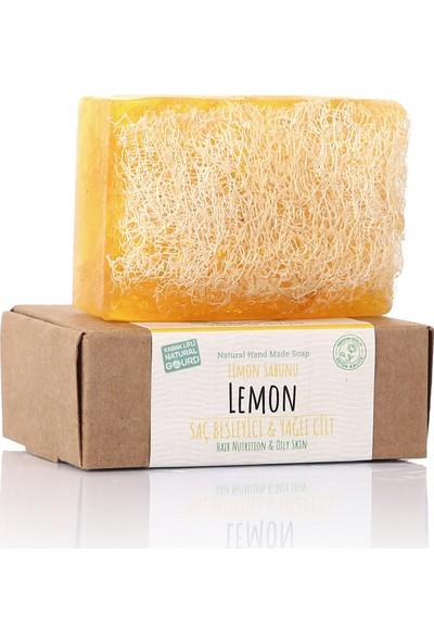 Dionesse El Yapımı Kabak Lifli Limon Sabunu 110 gr