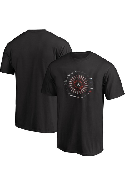 NSJ Sportive Jordan All Shoes T-Shirt
