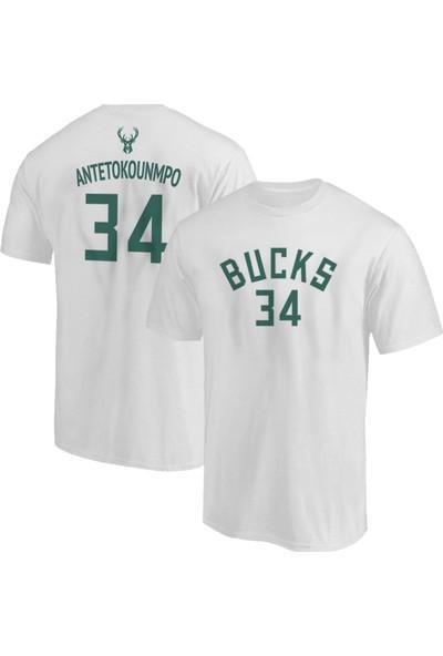 NSJ Sportive Milwaukee Giannis Antetokounmpo T-Shirt