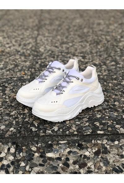 Shoemark Pascal Beyaz Sneakers