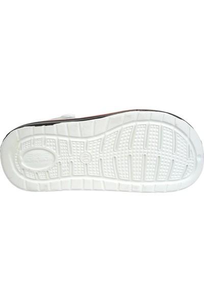 Gezer 12471 Beyaz Sandalet Erkek Terlik