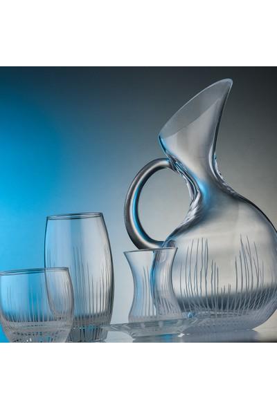 Kcd Cam Dekor Di̇zayn Işık 61 Parça Su Takımı