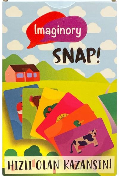 Alice & Grace Imaginory Masal Temalı Hikaye Seti Snap! Kart Oyunu