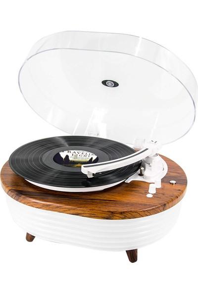 Music Public Kingdom TT238 Bluetooth Özellikli Pikap - Kahverengi