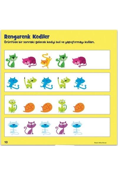 Sticker Gizli Resimler Eğlenceli Etkinlikler 5'li Set Eğitici Aktivite Kitabı - 3 - 6 Yaş