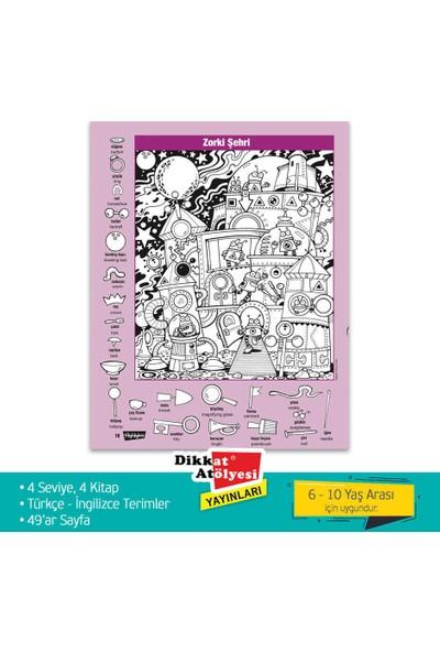 Gizli Resimler Hidden Pictures Puzzles - 6 - 10 Yaş Eğlenceli Eğitici Aktivite Kitabı