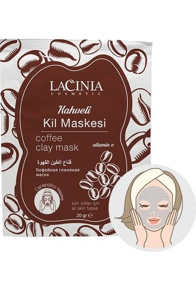 Lacinia Kahveli Kil Maskesi (Tek Kullanımlık Paket)