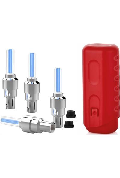 Transformacion 2 Yedekli Mavi Işıklı Bisiklet Sibop Kapağı Kutu Seti 428480