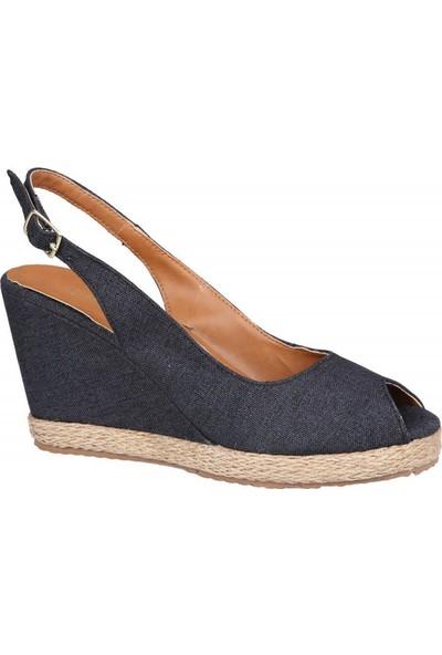 Miss Park Moda K100 Siyah Kadın Sandalet