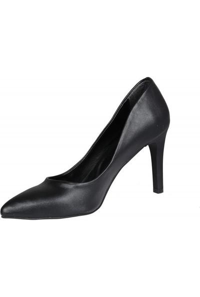 Miss Park Moda K620 Siyah Kadın Stiletto