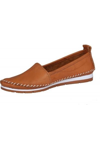 Miss Park Moda K63 Taba Kadın Günlük Ayakkabı