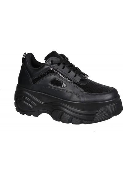 Miss Park Moda K99102 Siyah Kadın Sneakers