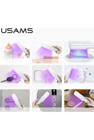 PurpleGlow Ultraviyole Işıklı Portatif Şarjlı Sterilizasyon Cihazı