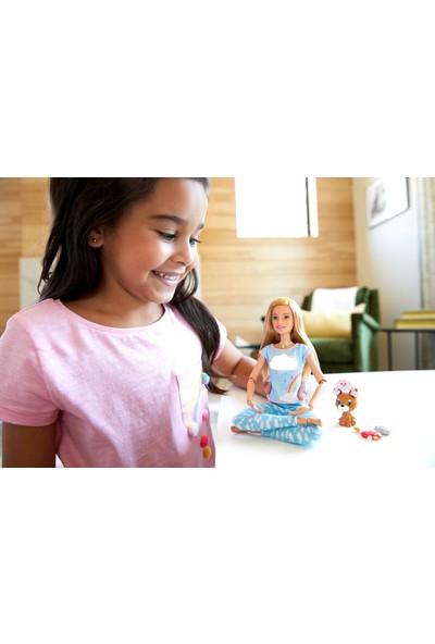 Barbie Wellness - Barbie Nefes Alıyor Bebeği