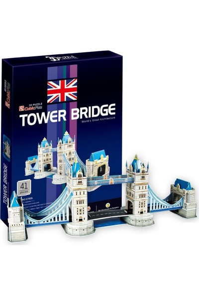 Cubic Fun Londra Tower Bridge Maketi