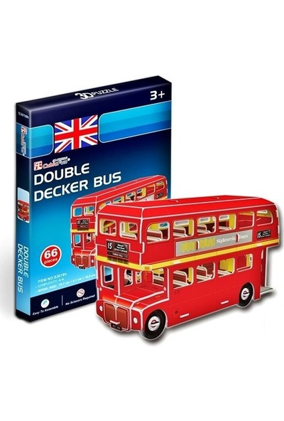 Cubic Fun London Bus Maketi