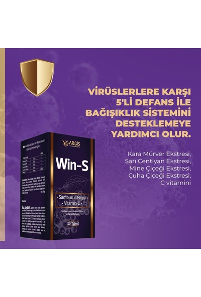 Argis Win-S Sambucus Nigra Vitamin C