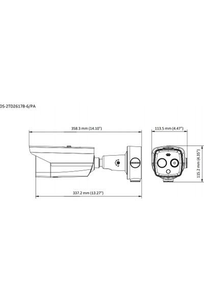 Hıkvısıon DS-2TD2617B-6/PA Termal Kamera