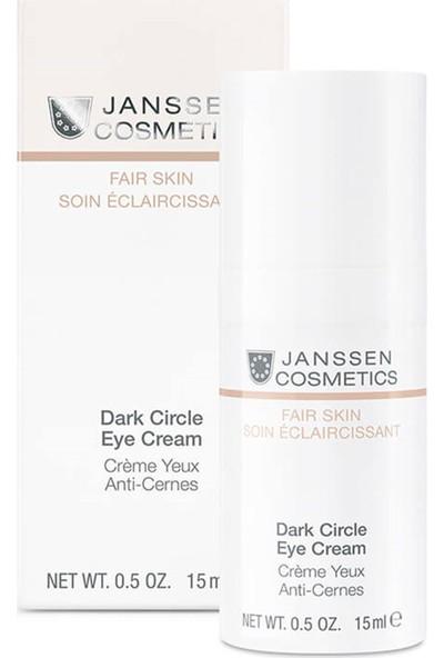 Janssen Cosmetics Dark Cisrle Eye Cream New 15 ml