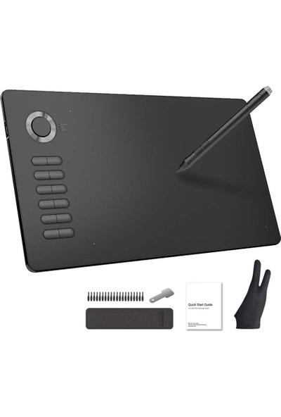 Veikk A15 8192 Levels 5080LPI Grafik Tablet + Kalem