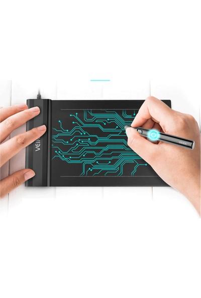 Veikk S640 8192 Levels 5080LPI Grafik Tablet + Kalem