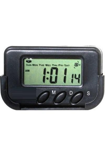 Serel Araç İçi Dijital Kronometreli Saat