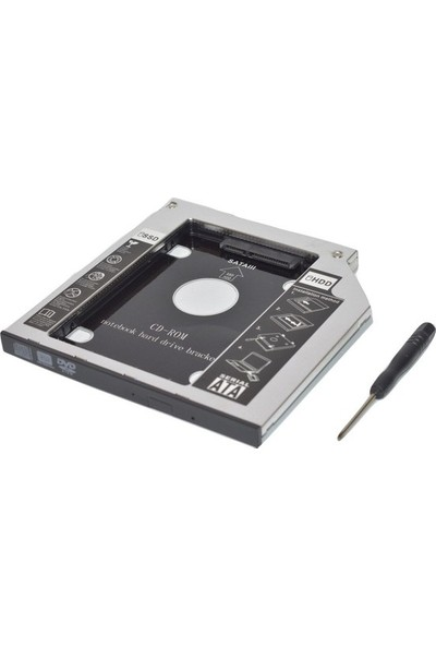 Hadron 9.5mm HDD Caddy Laptop Notebook Sata 4716P DVD To SSD Kutusu