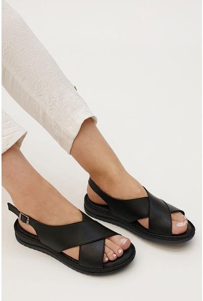 Marjin Kadın Butage Düz Sandalet