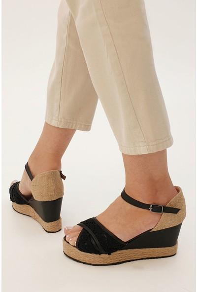 Marjin Kadın İmosa Dolgu Sandalet