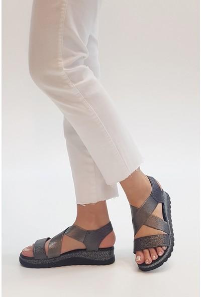 Marjin Kadın Tortina Düz Sandalet