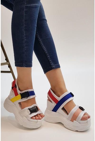 Marjin Yadez Dolgu Sandalet