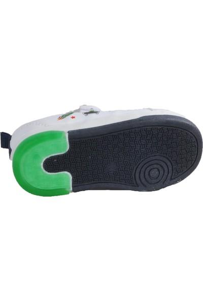 Cool 20 - S29 Beyaz - Sarı - Yeşil Bebek Spor Ayakkabı