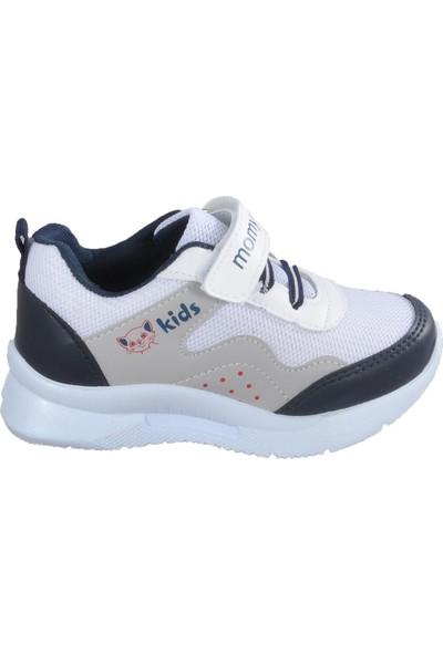 Momykids 303 G 28902 Beyaz Çocuk Spor Ayakkabı