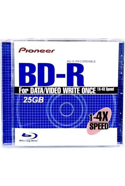 Pioneer 25GB 4x Blu-Ray Disc BD-R Tekli Kutu