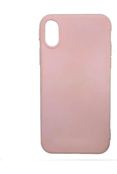 Zümrah Apple iPhone XR Şeker Silikon Kılıf Kapak Koruma Pudra