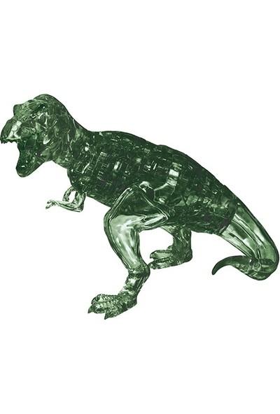 Crystal Puzzle T-Rex Yeşil Orta Boy 3D Maket