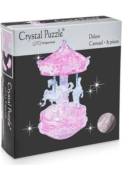 Crystal Puzzle Pembe Atlıkarınca Büyük Boy 3D Maket