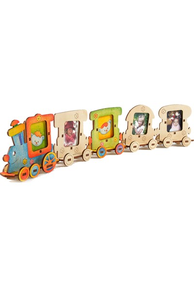 Woody Mutlu Aile Eğitici Ahşap Oyuncak