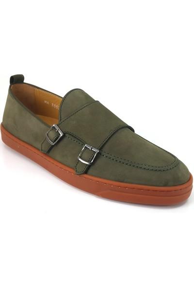 Libero 3357 Günlük Erkek Ayakkabı Haki