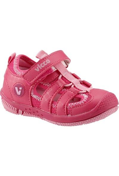 Vicco 332.Z.336 Fuşya Kız Çocuk Günlük Spor Sandalet