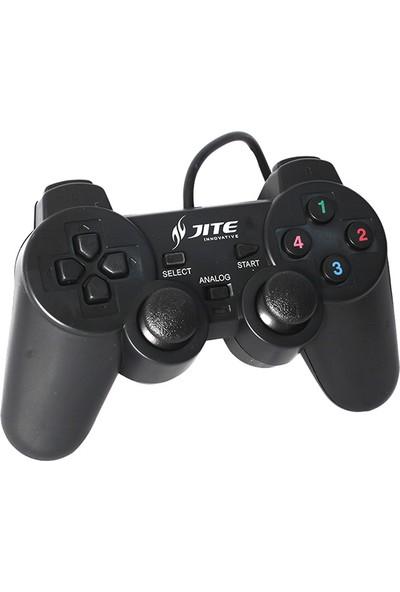 Jite PM-17172 Joystickli USB Gamepad PC Oyun Kolu