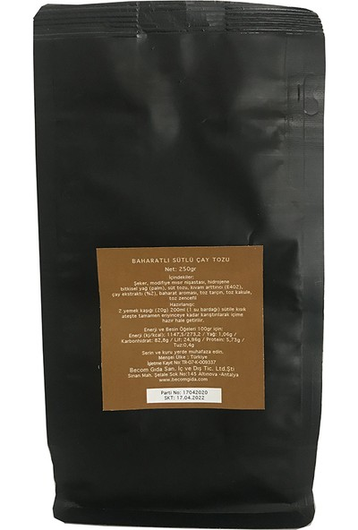 Rialto Chai Tea Latte 250 gr