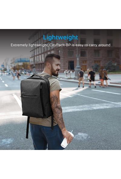 Promate Citypack-Bp Kanvas Seyahat Laptop Notebook Sırt Çantası
